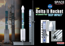 "Dragon Space Delta II Rocket w/Launch Pad ""Deep Impact"" - 1/400 DW56243"