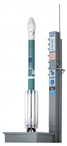 "Dragon Space Delta II Rocket USAF ""GPS-IIR-16"" - 1/400 DW56334"