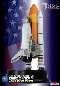 Dragon Space Space Shuttle Discovery w/Solid Rocket Booster 1/144 Cutaway DW47403