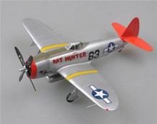 "Easy Models P-47D Thunderbolt USAAF ""Rat Hunter"" Red Tails 1/48 EM39309"