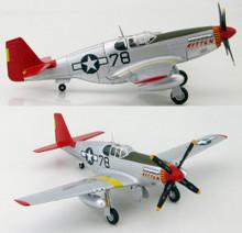 """HobbyMaster P-51B Mustang """"Kitten"""" Charles McGee 302FS/332FG - Ltd450 1/48 HM8507B"""