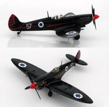 "HobbyMaster Spitfire IXe ""Ezer Weisman"" 105 Sqn Ramat David AB June 1955-Ltd1000  1/48 HM8313"