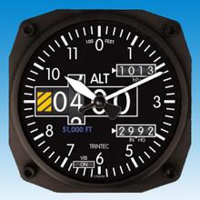 Trintec Altimeter Wall clock 17x17cm TC2060