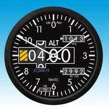 Trintec Altimeter Round Wall clock 35.50cm TC2060-14