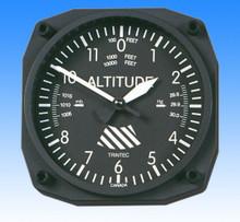 Trintec Altimètre style - Horloge Murale 17x17cm TC9060