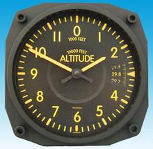 Trintec Altimètre Vintage style - Horloge Murale 17x17cm TC9060V