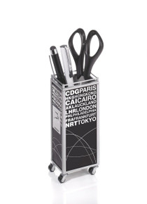 """AMS Gifts Pen Holder Trolley """"World"""""""