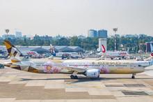Phoenix Etihad Airways Boeing 787-9 A6-BLK 'Choose Japan ' 1/400