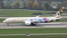 Phoenix Etihad Airways Boeing 787-9 A6-BLR 'Choose Singapore ' 1/400