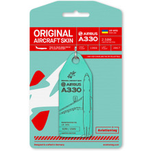 Aviationtag Windrose Airlines Airbus A330 – UR-WRQ Light Green