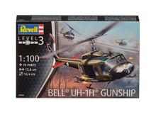 Revell Bell UH-1H Gunship (1:100 Scale) RL04983