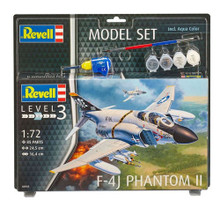 Revell Model Set - F-4J Phantom II (1:72 Scale) RL63941