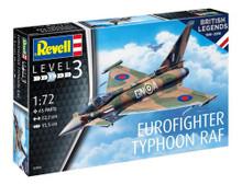 Revell Model Set - 100yrs RAF Eurofighter (1:72 Scale) RL63900