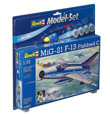 Revell Model Set- MiG-21 F-13 Fishbed C (1:72 Scale) RL63967