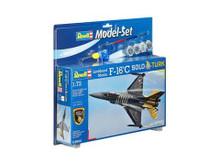 Revell Model Set - F-16C Solo Turk (1:72 Scale) RL64844