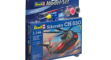 Revell Model Set - CH53G Heavy Transport Helicopter (1:144 Scale) RL64858