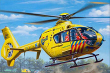 Revell Model Set - Airbus Helicopter EC135 ANWB (1:72 Scale) RL64939