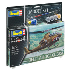 Revell Model Set - Bell AH-1G Cobra (1:72 Scale) RL64956