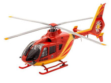 Revell Model Set - EC135 Air Glaciers Helicopter (1:72 Scale) RL64986