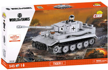 Cobi Tiger I World of Tanks 545 Building Blocks