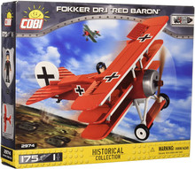 Cobi Fokker Dr.1 Red Baron 175 Building Blocks