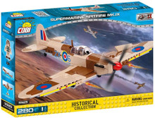 Cobi Small Army Mk 1X Supermarine Spitfire MK.IX 280 Building Blocks