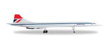 Herpa British Airways Aérospatiale-BAC Concorde (Negus colors) 1/500