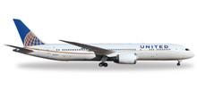 Herpa United Airlines Boeing 787-9 Dreamliner 1/200