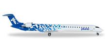 Herpa PLUNA Lineas Aéreas Uruguayas Bombardier CRJ-900 1/500