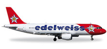 Herpa Edelweiss Air Airbus A320 1/200