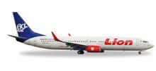 """Herpa Lion Air Boeing 737-900ER """"60th Boeing 737-900ER"""" 1/500"""