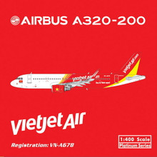 Phoenix Vietjet Air Airbus A320 1/400