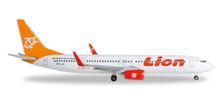 """Herpa Lion Air Boeing 737-900ER """"70th Boeing Next Generation 737"""" 1/500"""