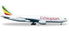 Herpa Ethiopian Airlines Boeing 777-200LR 1/500