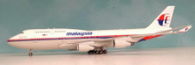 JFOX Malaysia Airlines Boeing 747-400 With Stand 1/200