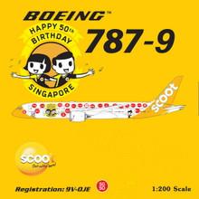 Phoenix Scoot Boeing 787-9 '50 SG' 1/200