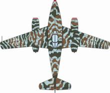 Oxford Diecast Messerschmitt Me262 Operation Bodenplatte 1945 1/72