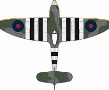 Oxford Diecast Hawker Tempest MkV No.3 Sqn. Newchurch 1944 1/72
