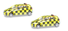 Herpa Scenix Mercedes-Benz Follow-Me Van (2-pack) 1/200