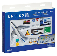 United Airlines Playset
