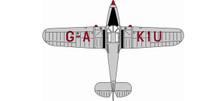 Oxford Classic Air Force Percival Proctor MkV G-AKIU - Classic Air Force 1/72