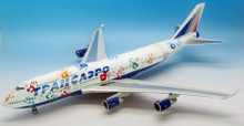 Inflight200 Transaero Airlines  Boeing 747 EI-XLK with stand 1/200