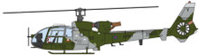 Aviation 72 Westland Gazelle British Army Current 1/72