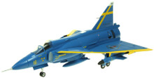 Aviation 72 SAAB Viggen F16-32 JA37D Blue Peter Uppsala 1/72