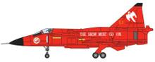 Aviation 72 SAAB Viggen JA37 'THE SHOW MUST GO ON' 1/72