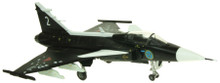 Aviation 72 SAAB Gripen Swedish AF Museum Black 1/72