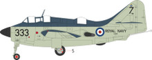 Aviation 72 Fairey Gannet XA420 333 824 NAS HMS Albion 1957 1/72