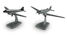 Hogan Alaska Airlines DC-3 Set of 2 (Silver+White) 1/200