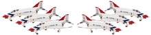 Hogan USAF F-4E Thunderbirds (Twin seat) 6 in 1 1/200
