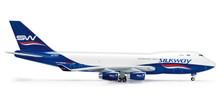 Herpa Silk Way Airlines Boeing 747-400F 1/200